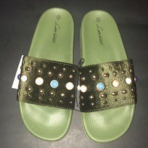 Shoes - 🔥Embellished Slides🔥